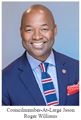Jason Roger Williams - Councilmember-at-Large