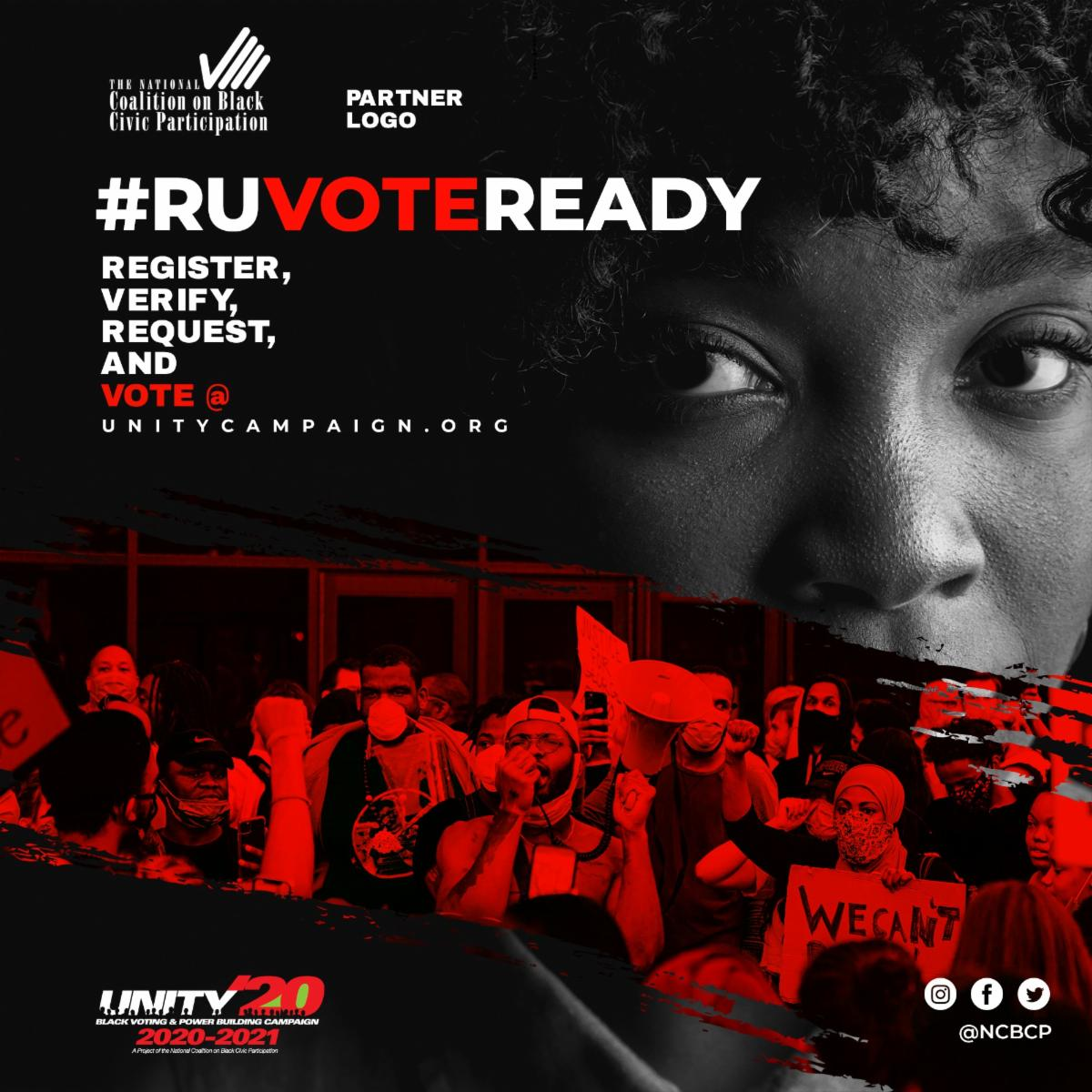NCBCP - #RUVOTEREADY_Reg_Verify_Request_Vote