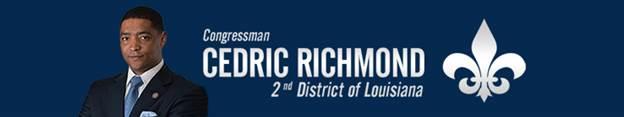 Congressman Cedric Richmond - banner_2nd_Congressional_Dist