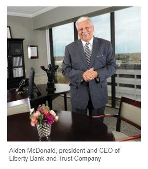 Alden McDonald - President_CEO_Liberty_Bank