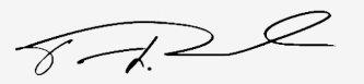 Congressman Cedric Richmond - signature