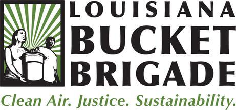 Bucket Brigade horizontal logo graphic
