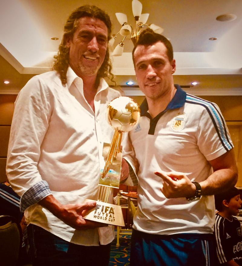 Otto with Diego and World Cup 2016