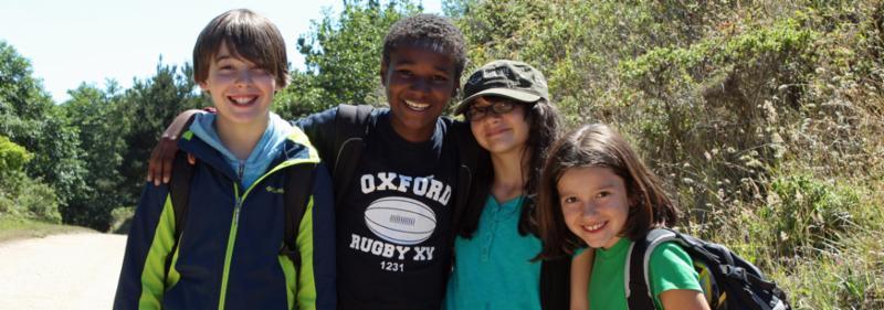 kids at CLEM summer camp