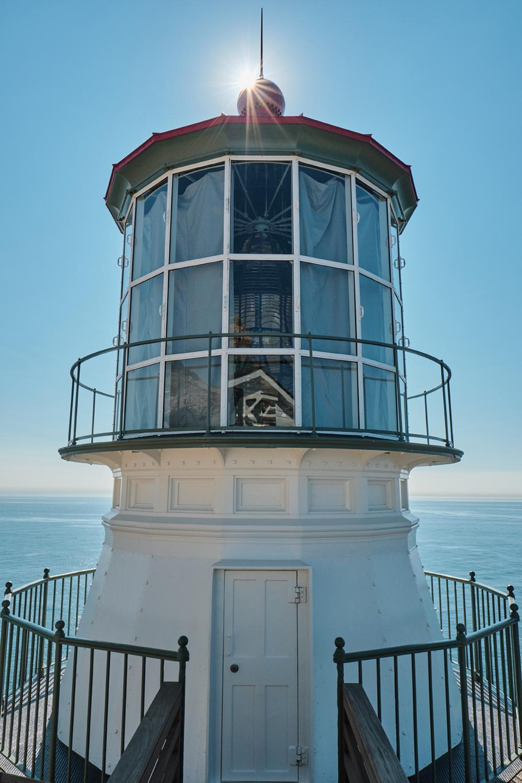 Lighthouse close up taken shortly after restoration.
