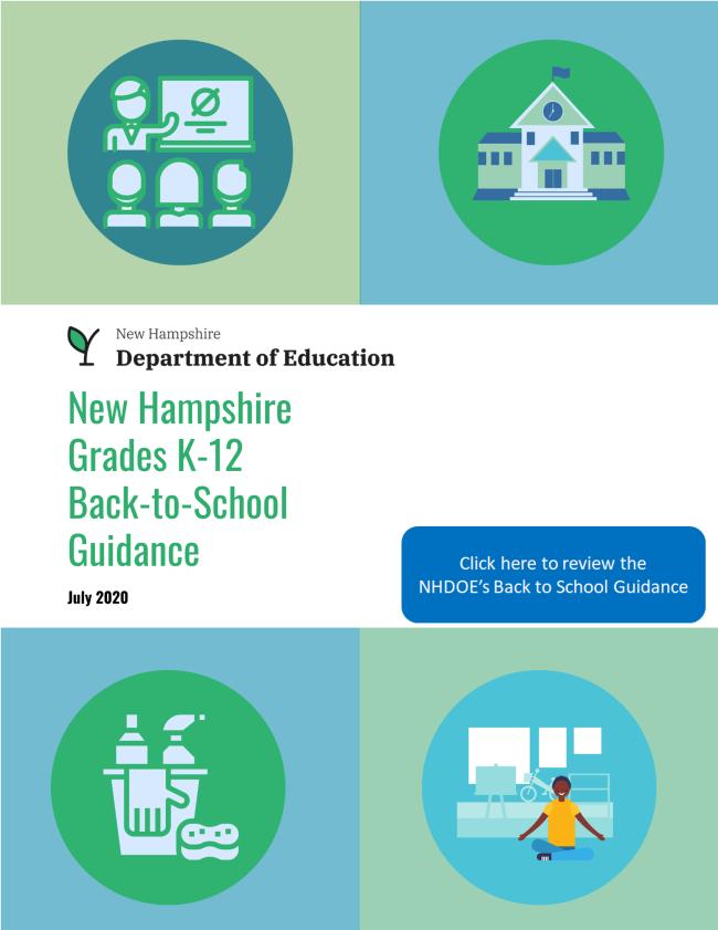 NHDOE Back-to-School Guidance