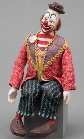Clown figure in miniature