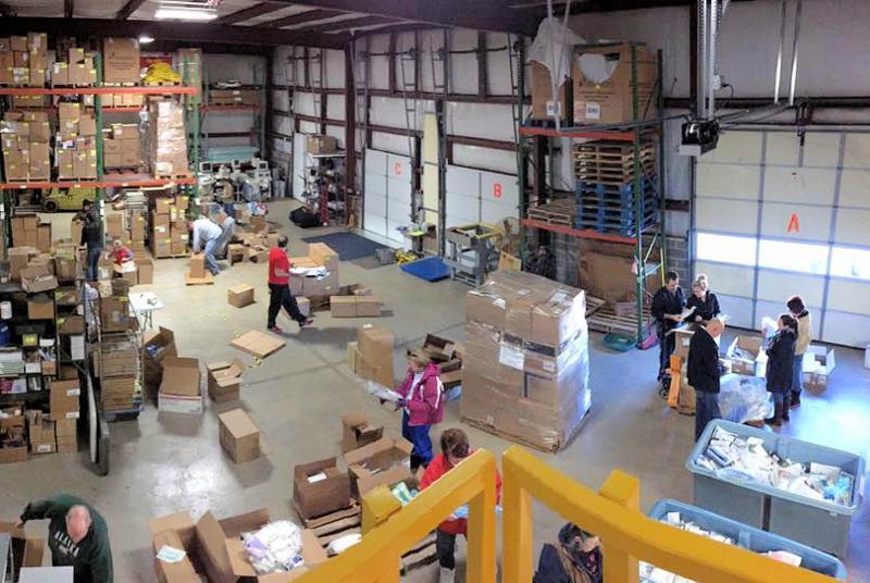 Warehouse Volunteers