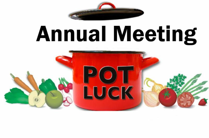 Annual Meeting and Potluck Sunday Jan 28
