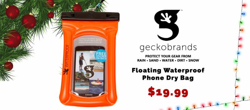 Gecko Brands Floating Phone Dry Bag - $19.99