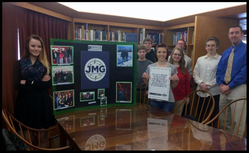 Erskine Academy JMG Students Present at Margaret Chase Smith Library