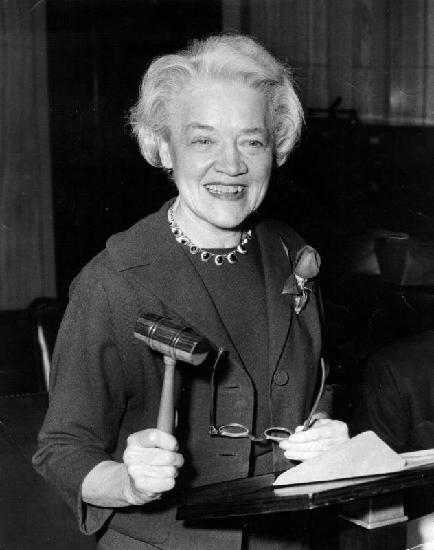 Photo of Sen. Margaret Chase Smith