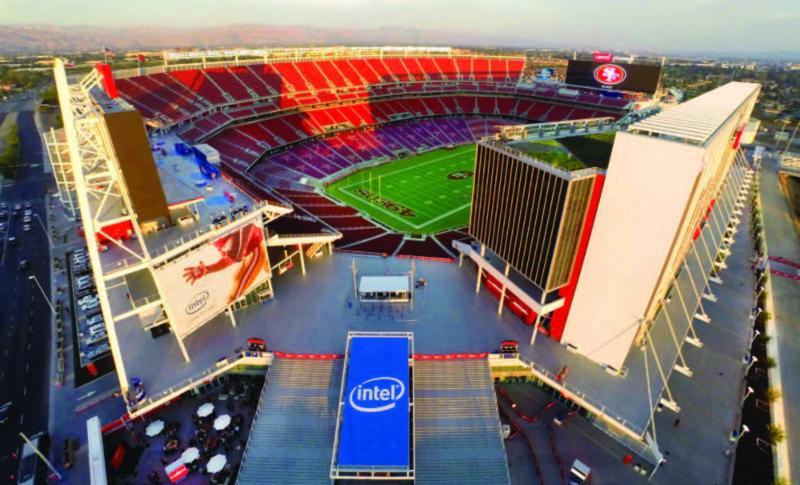 49rs Football stadium