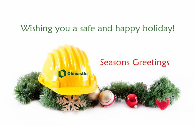 Hardhat holiday greeting