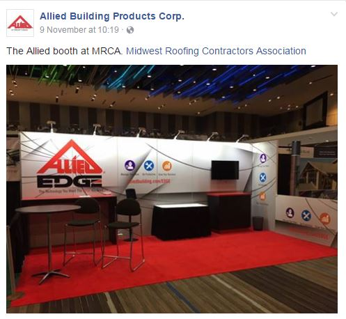 Allied booth