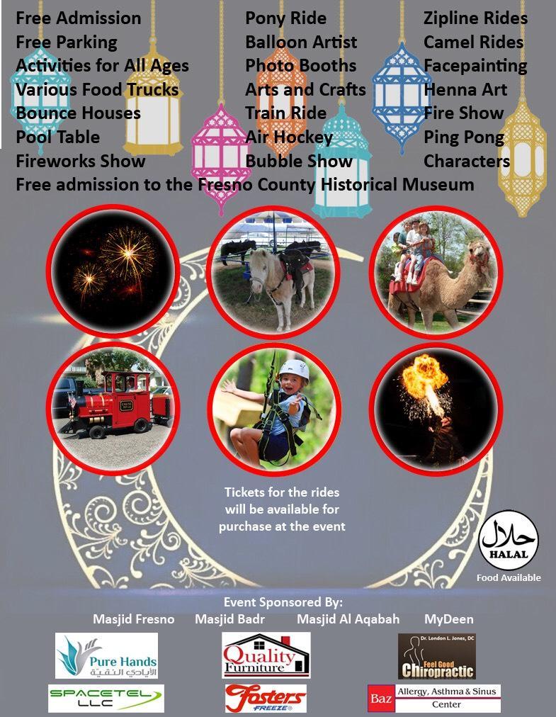 Eidul-Fitr Prayer and Celebration