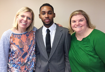 Job Shadow experience leads to internship offer for