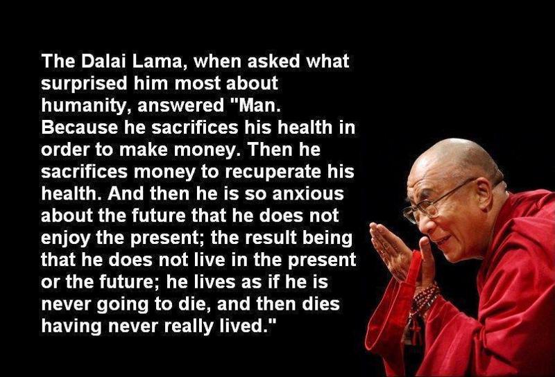 dala lama message