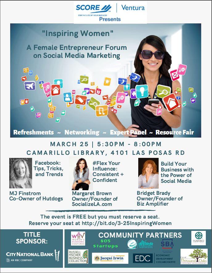 Women's Entrepreneur Forum flyer