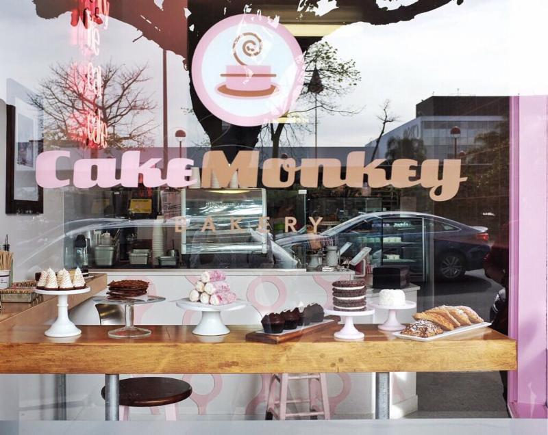 Cake Monkey Bakery Storefront