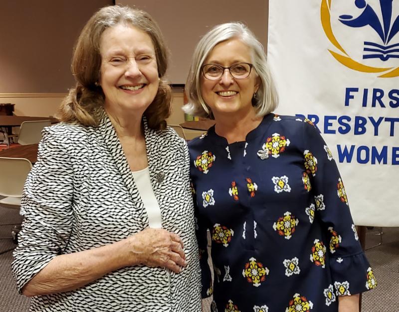 Shirley Brannan and Kay Wall