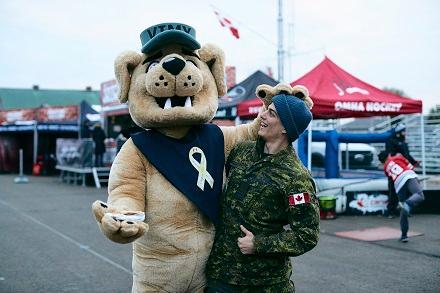 Canada Army Run: Virtual Image