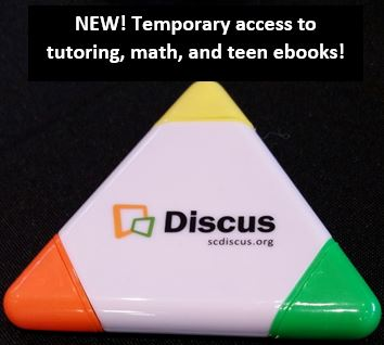 Temporary access to tutoring_ math_ and teen ebooks and triangle shaped image of Discus