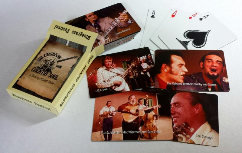 Bluegrass Country Soul Custom Playing Cards