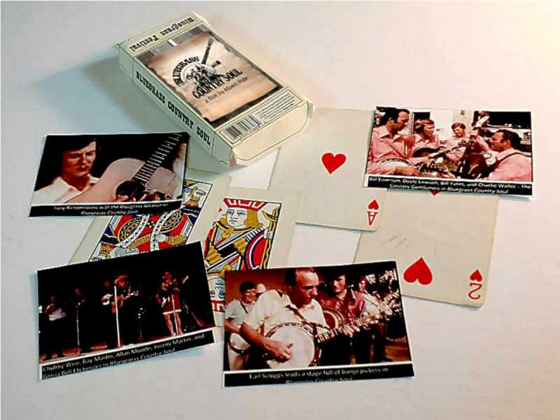Bluegrass Country Soul Playing Cards