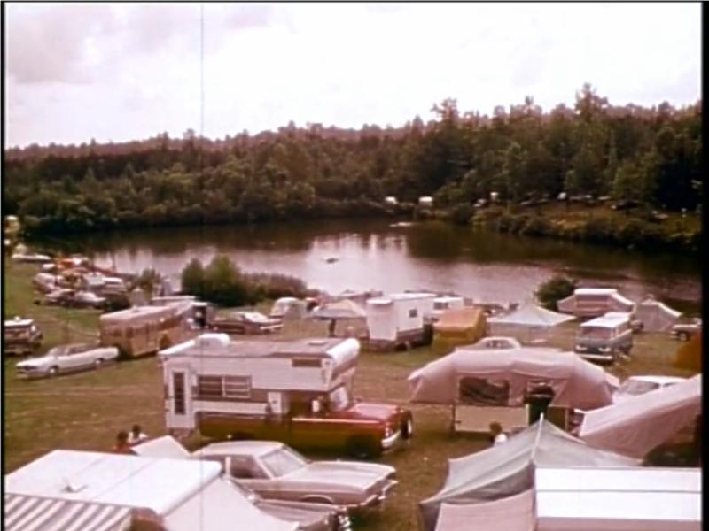 Camp Springs pond