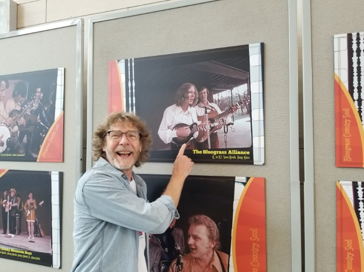 Sam Bush at the World of Bluegrass