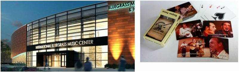 Bluegrass Hall of Fame & Museum and BGCS Playing Cards