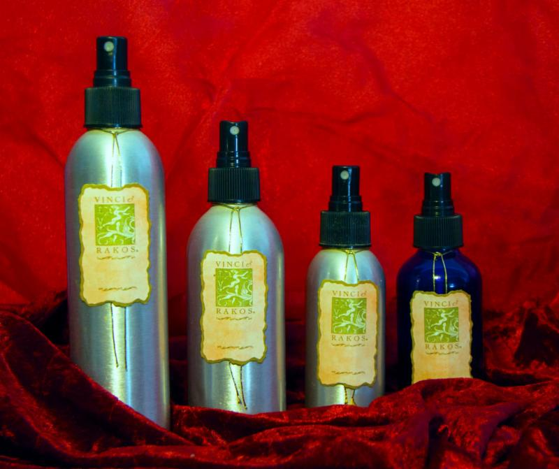 Dry Body Oil - Red