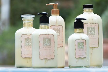 Lotion 5 bottles new ARC