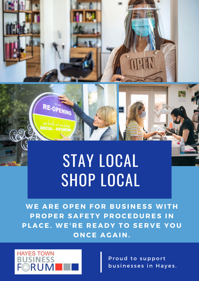 Stay Local Shop Local