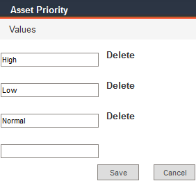 Asset Priority good data