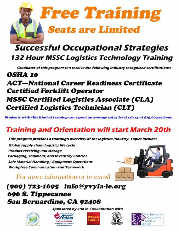 Free Warehousefulfillment Center Job Training