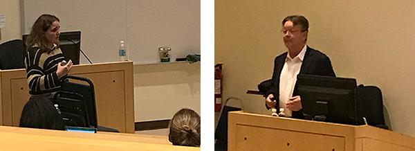 Dr. Kirsten Bubeck and Dr. Andris Kaneps