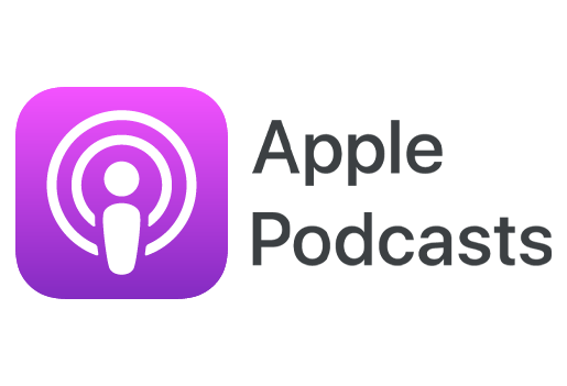 Text reads: Apple Podcasts