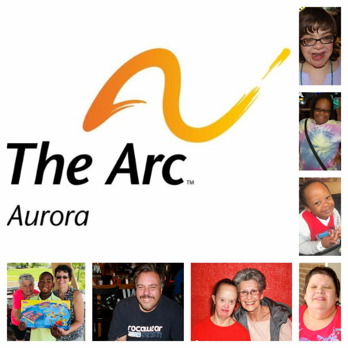 Logo that reads The Arc of Aurora