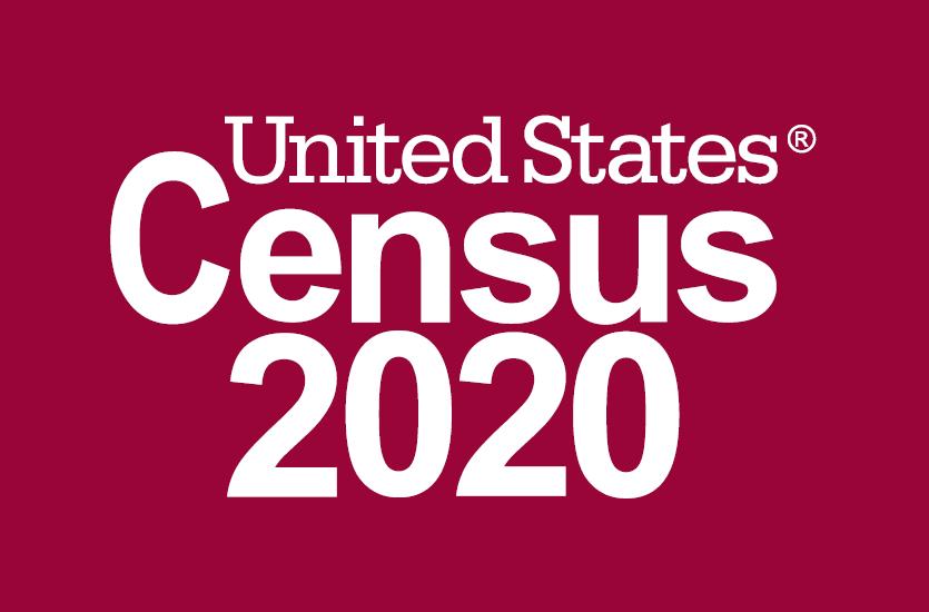 Logo reads United States Census 2020