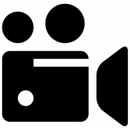 clip art of a video camera