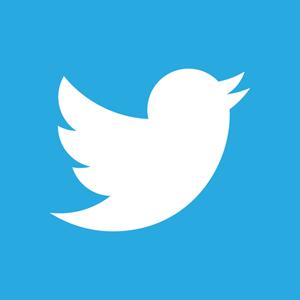 Logo that reads Twitter