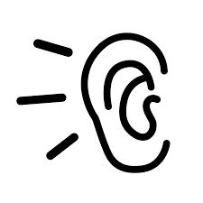 clip art of an ear