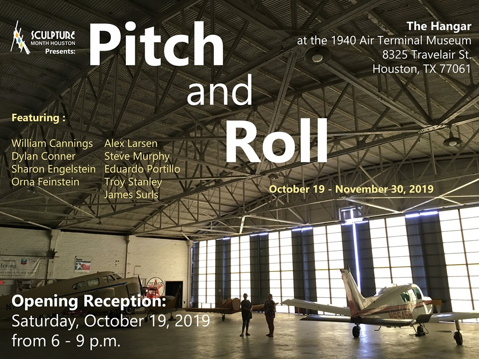 "Sculpture Month Houston presents: ""Pitch and Roll"" Opening Reception"