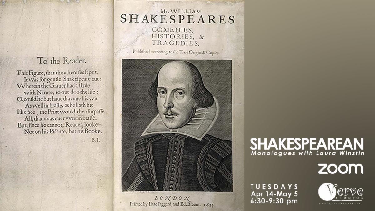 Verve Studios Shakespeare Monologues