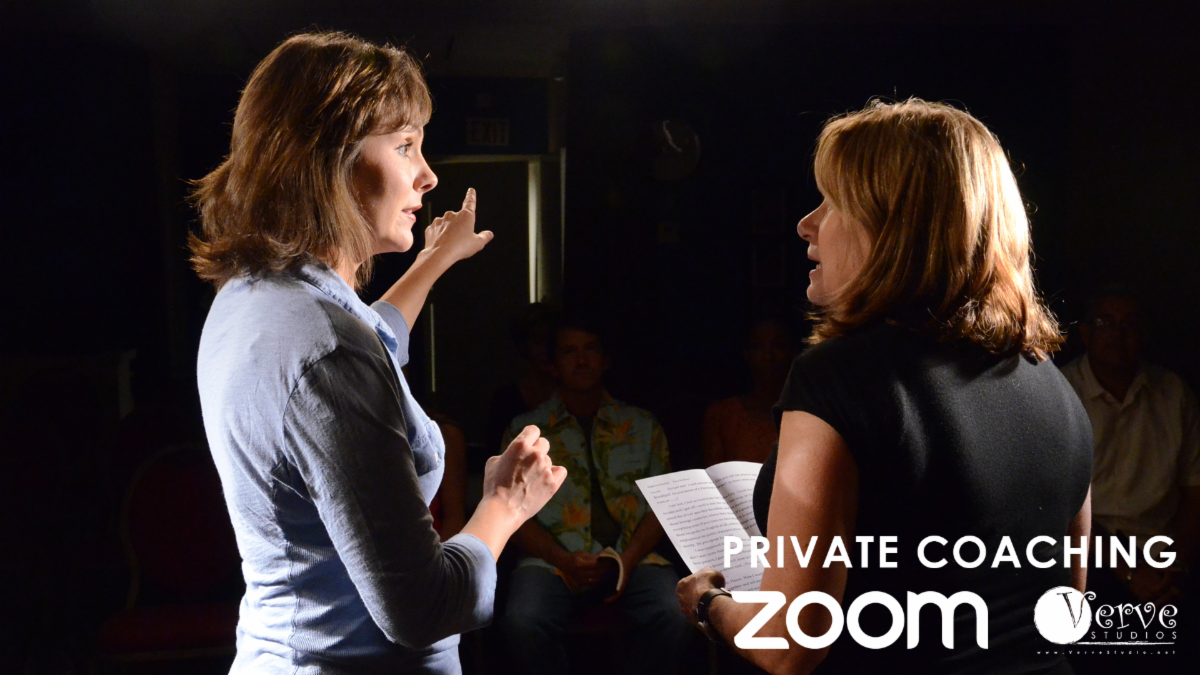 Verve Studios Private Acting Coaching via Zoom
