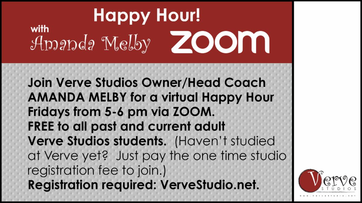 Verve Studios Happy Hour