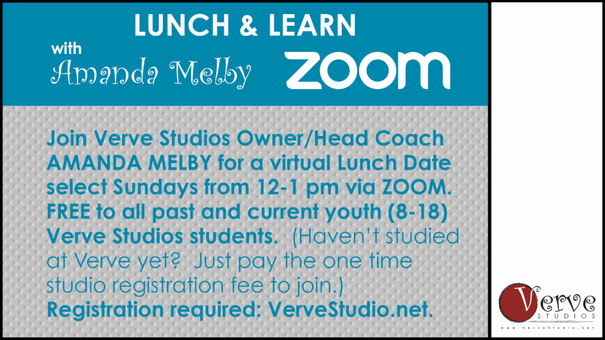 Verve Studios Lunch and Learn for Youth