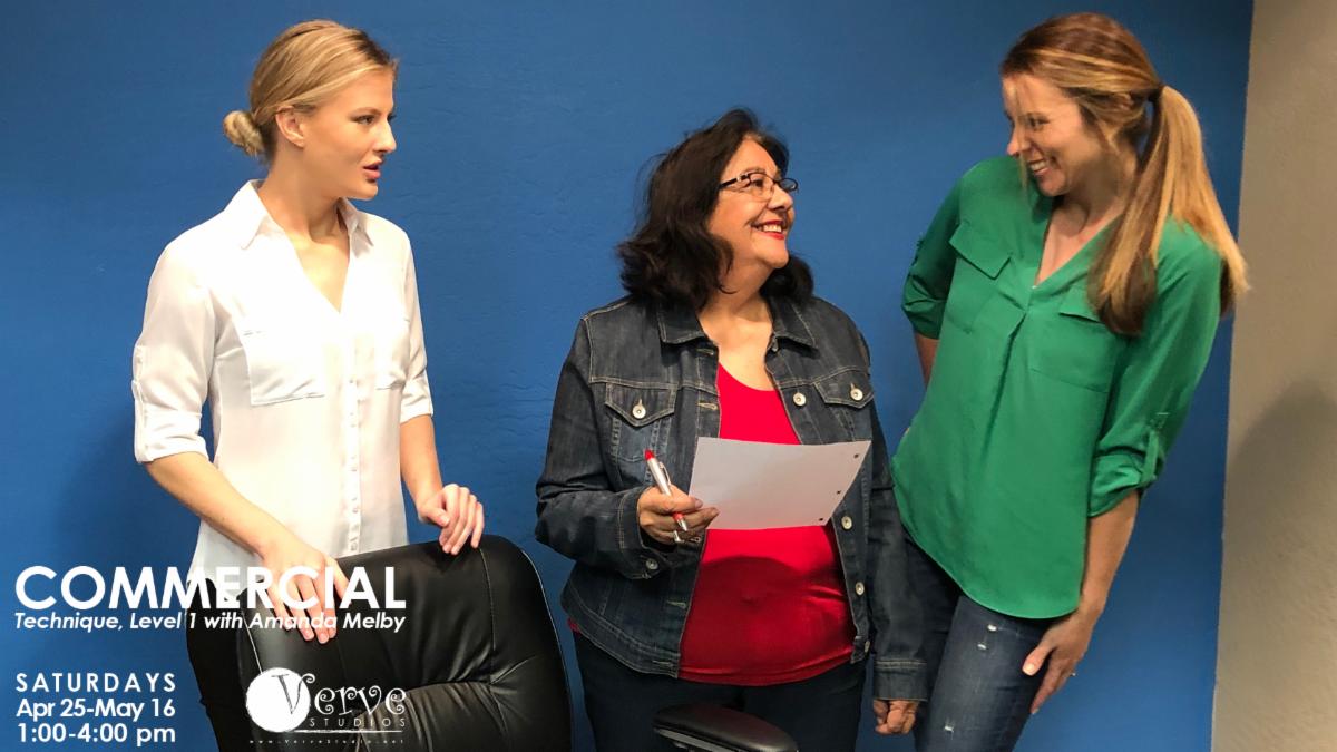 Verve Studios Commercials L1 April-May 2020 with Amanda Melby